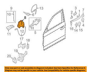 bmw oem 03 16 z4 front door lock actuator motor 51217202146 BMW Parts Diagram Door image is loading bmw oem 03 16 z4 front door lock