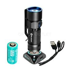 Olight S10R Baton III 600 Lumen Rechargeable LED Flashlight w/ Battery & Dock