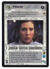 SWCCG Star Wars CCG • Princess Leia Leila • CLOUD CITY • RARE