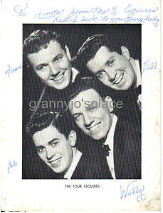 Image Is Loading 1950 039 S Hand Signed AUTOGRAPH Photo Of
