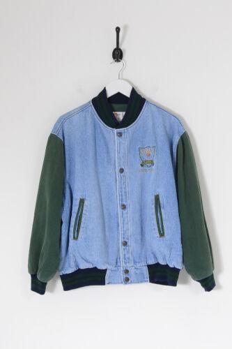 Vintage Men's Mirage Classics Denim Varsity Jacket
