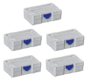 TANOS MINI Systainer T-Loc III lichtgrau Stapelbox stapelbar