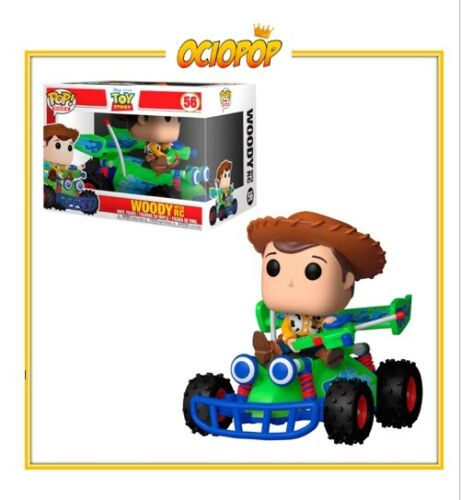 POP Rides// Funko Pop Woody with RC 56 Disney Toy Story 4