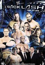 BACKLASH 2007 wwe wrestling dvd BATISTA