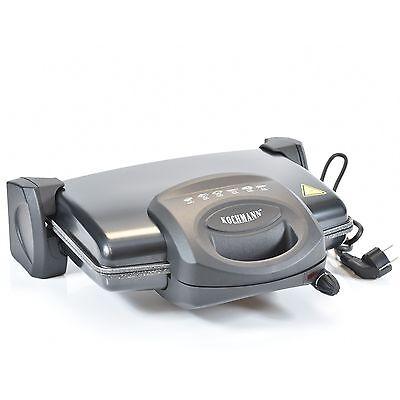 Kochmann Toaster Kontaktgrill Tischgrill Sandwichtoaster Multigrill Grill T-0213