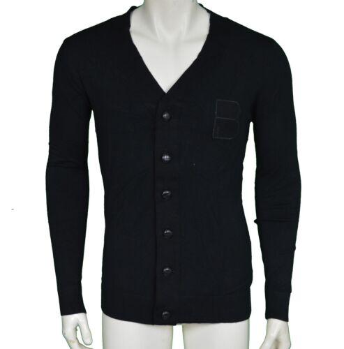 side B Button Up By M Men's Cardigan Black Size Wale Medium