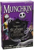 Munchkin Nightmare Before Christmas Card Game