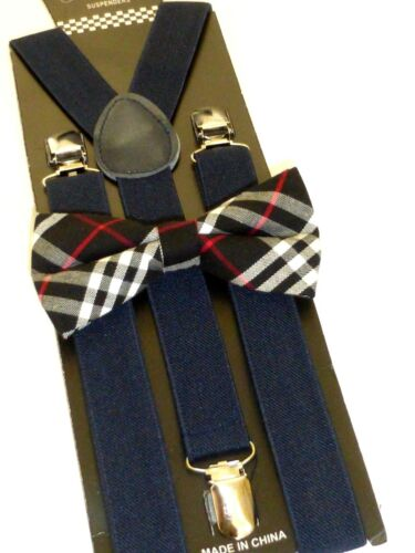 Suspenders Amish Mennonite Mens Boys Button-Tab and Clip-On BRAND NEW