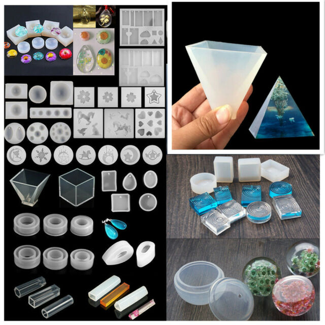 New Round Ripple Silicone Mold Making Jewelry Pendant Resin Mould Handmade Craft