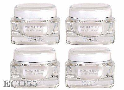 NEW VIVO Per Lei Facial Peeling Cleanser lot (Set of 4) full 1.7 oz ea $160 MSRP