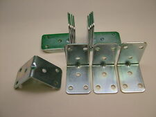 Pack of 12 Heavy Duty 2mm Angle Bracket 50x50x35 Corner Brace bed/frame repair