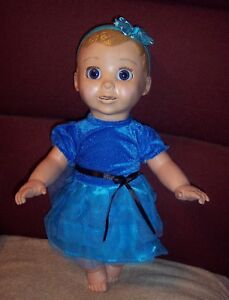Adorable Dress Fits Luvabella Doll Clothes Baby Doll Dress Headband Only Ebay