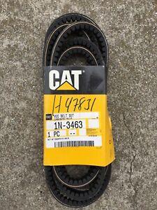 CAT-BELT-Set-2-Pt-1N-3463-CATERPILLAR-Cogged-V-Belt-gt-gt-OEM-NEW