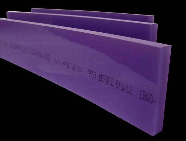 "8"" Ergo-Force 64A Squeegee Blade, Silk Screen Squeegee,Screen Printing Squeegee"