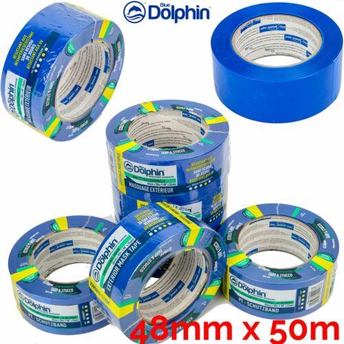 Lona Y Estuco-cinta de máscara exterior limpio cáscara resistente a UV durar mucho tiempo 48mm x50m