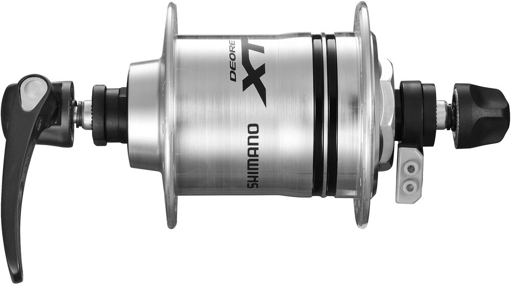 Shimano Deore XT DH-T780-1N 6v 1.5w For Rim Brake Silber 32h Quick Release Hub