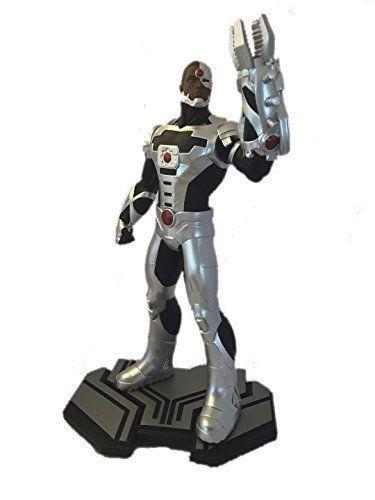DC Comics Emblemas Cyborg 1 6 Escala Estatua 27.9cm alto Raro Marca Caja