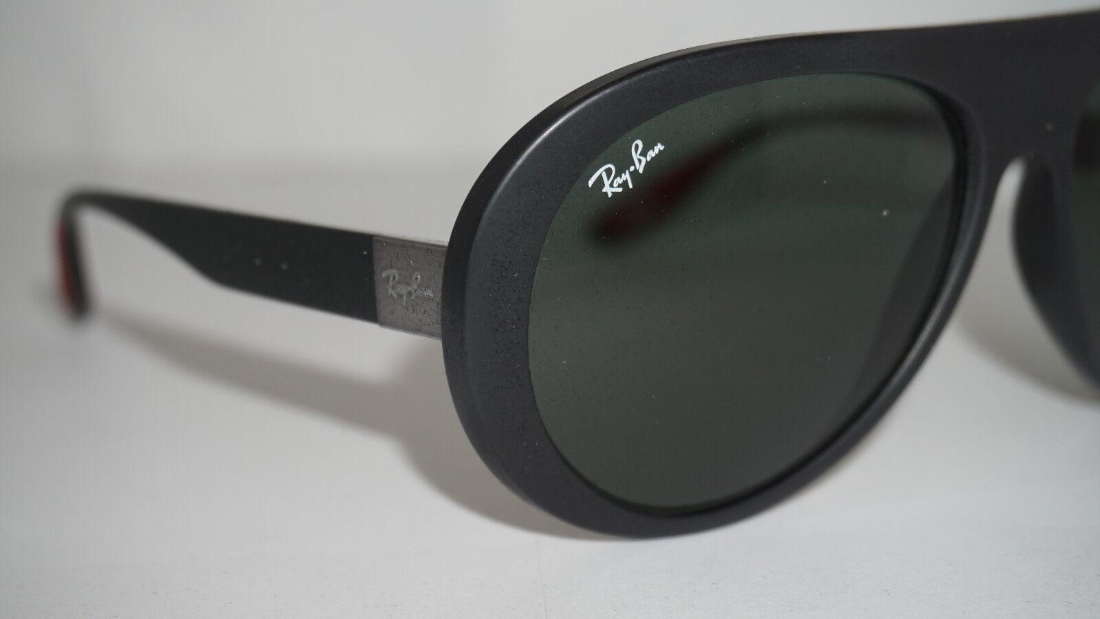 2652005c296 Ray Ban Sunglasses Ferrari Black Green Classic Rb4310m F60271 59 140 for  sale online