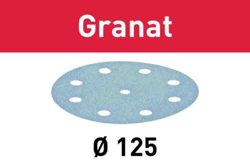 FESTOOL Schleifscheibe Klett-Schleifpapier GRANAT STF Ø125 VOC StickFix Lack Mix