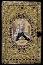 santino merlettato-holycard-canivet S.FRANCESCA ROMANA