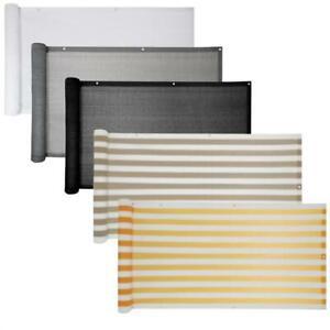 Balkon-Sichtschutz-Bespannung-Terrasse-6-m-Balkonverkleidung-Sonnen-Wind-Schutz