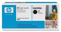Genuine Hp 124a Q6000a Black Original Laserjet Toner Cartridge