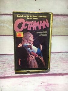 Octaman-VHS-Video-Tape-Clamshell-Case-OOP-Former-Rental-Poor-Condition-f5