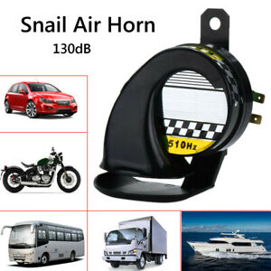 130DB-CLACSON-SNAIL-AIR-CORNO-IMPERMEABILE-PER-12V-AUTO-MOTO-SCOOTER-CAMION