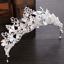 Bridal-Princess-Rhinestone-Pearl-Leaf-Crystal-Hair-Tiara-Wedding-Crown-Headband thumbnail 2