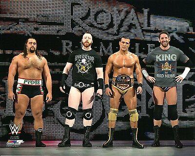 Wwe Photo League Of Nations Wrestling 8x10 Promo Rusev Sheamus Del Rio Barrett Ebay