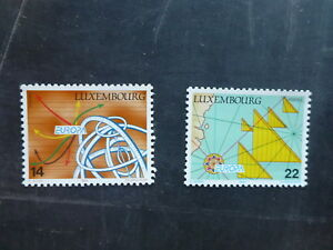 1994-LUXEMBOURG-DISCOVERIES-SET-2-MINT-STAMPS-MNH