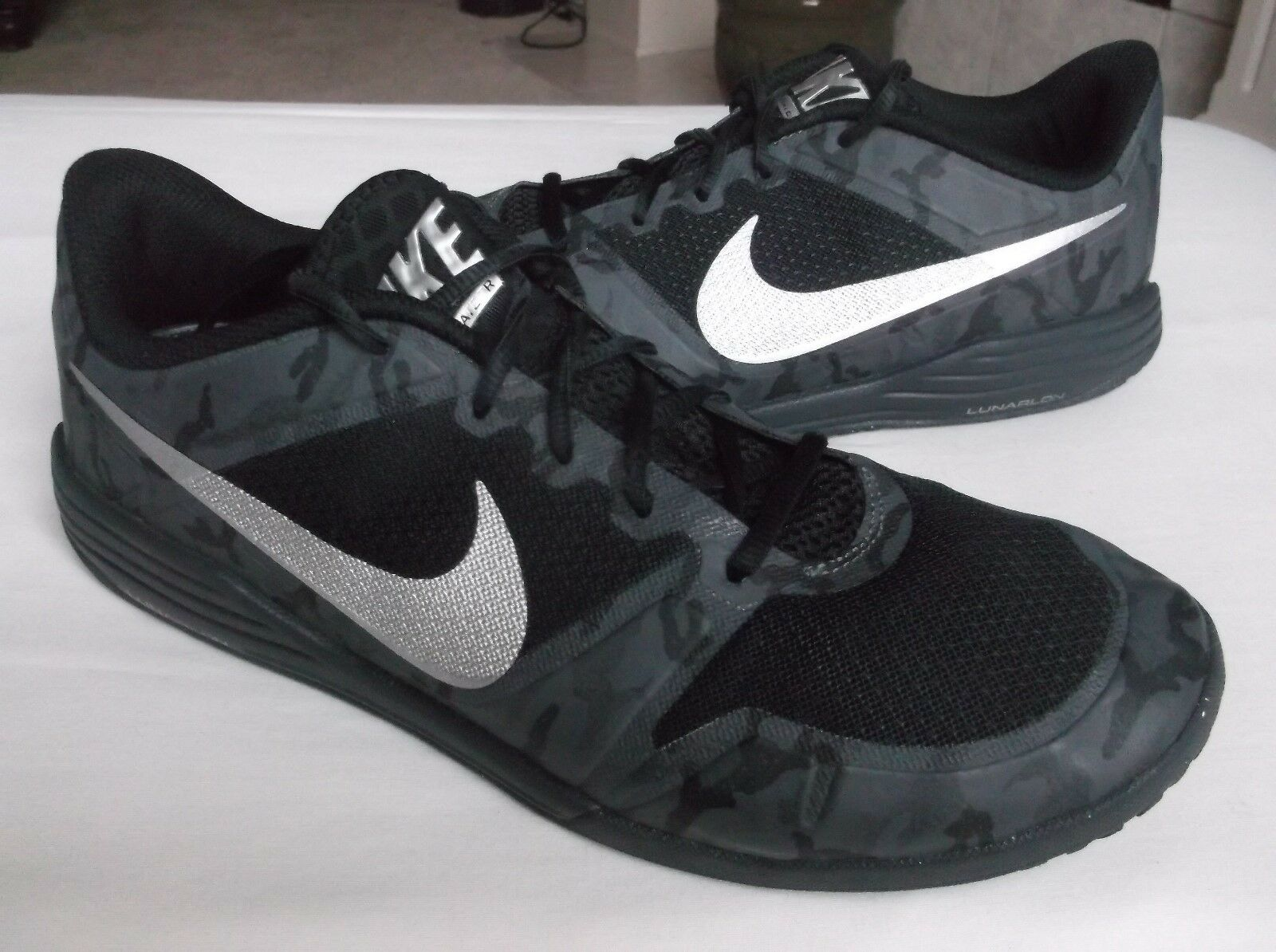 nike lunarlon lunar sneakers, ultimative tr männer schwarze trainer sportliche sneakers, lunar schuhe, 10. 7735da