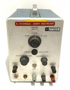 Tektronix-Short-Destroyer-Audio-Amplifier-Radio-Test-Equipment-Rare-Specialty