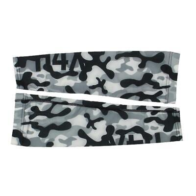 H4X Mens Black Seamless Workout Fitness Arm Sleeve Athletic S//M BHFO 4529