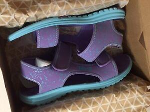 Purple//Scuba Blue Splatter Teva Girls/' Tidepool Sandal 6 M US Big Kid