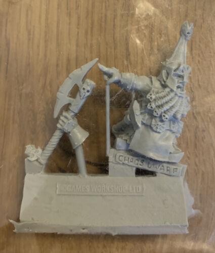 Warhammer FANTASY-FORGEWORLD-games day 2011-caos dwarf-NUOVO /& OVP
