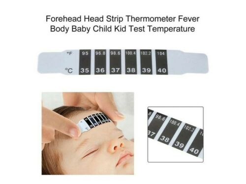 Forehead Thermometer Temperature Check Strip Quick and Accurate Fever Check