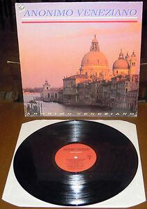 LP ANONIMO VENEZIANO s/t (DiscoMagic 92) Italo disco dance Serra Lombardoni VG+
