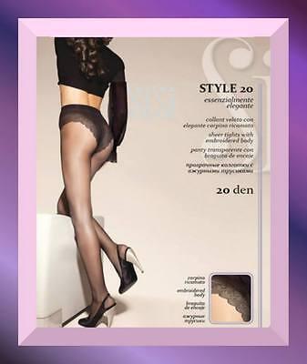 *atheliercortez* Sisi Style 20 Den Collant Elasticizzato 4 Taglie 8 Colori -50% Acquisto Speciale