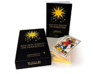 Coffret Luxe Or Ancien Tarot de Marseille (Cartes, divination, Cards)