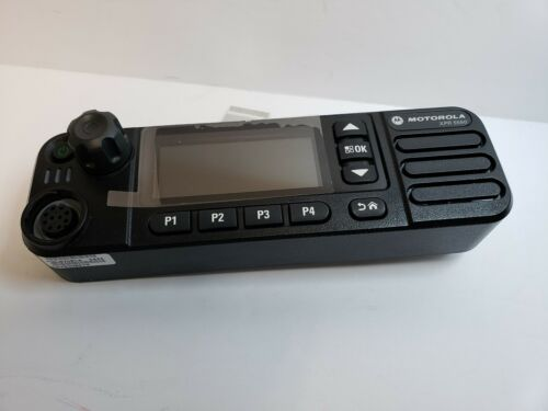 New Motorola XPR 5550e front Panel Control Head  Mototrbo DMR