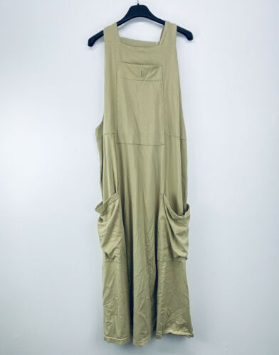 Blue Fish 2 Oversized Long Jumper Overall Dress Po