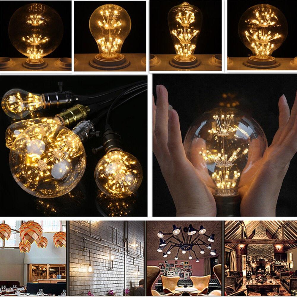 E27 3W LED Rustika Retro Edison Filament Glühbirnen Deko Lampe Leuchtmittel   | Ausgang  | Ausgezeichnete Leistung  | Schönes Aussehen