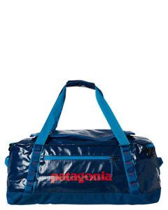 008753e59c9 PATAGONIA 60L BLACK HOLE DUFFEL BAG BIG SUR BLUE COLOR BACKPACK ...