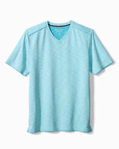 Tommy Bahama Fray Day Harbor V-Neck T-Shirt $84.50 St Tropez ST225346