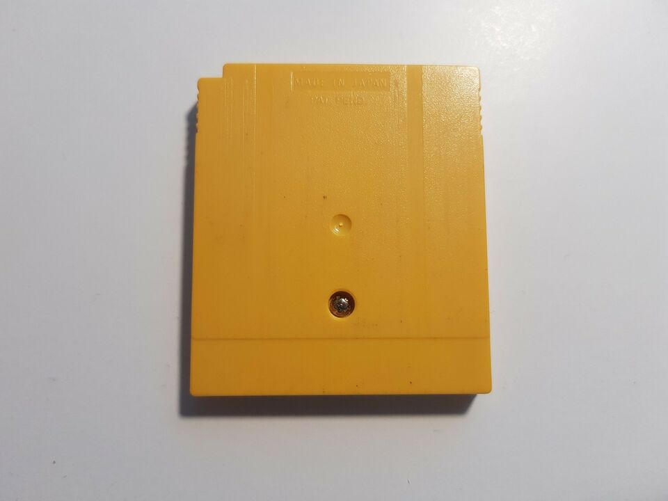 Pokemon Yellow, Gameboy