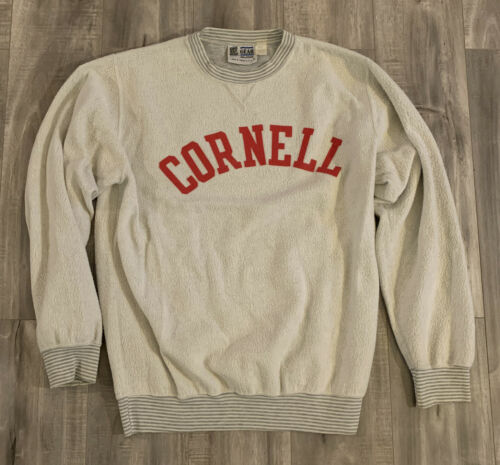 Vintage 90s Cornell University Inside Out Sweater