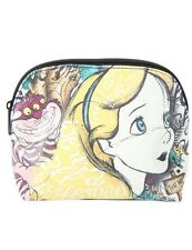 Disney Alice In Wonderland Script Makeup Cosmetic Bag New With Tags!