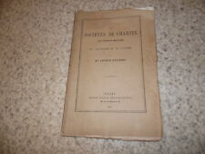 1861.sociétés de charité.Francs-maçons.Dupanloup