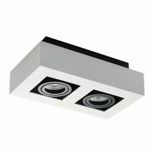 CompéTent Kanlux Stobi 2 Spot Downlight Spotlight Del Shop Display Light Tilt Boxed Lampe-afficher Le Titre D'origine